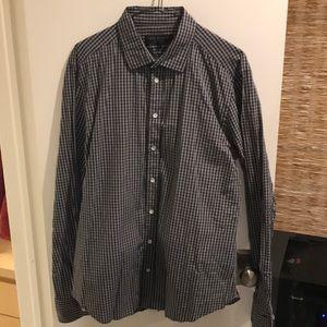 Rag & Bone Long Sleeve Button Down Shirt